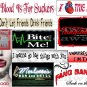 Set of 11 TRUE BLOOD StiCKerS