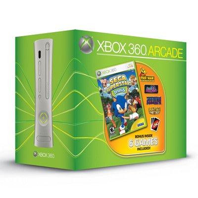 Microsoft Xbox 360 Arcade Gaming Console