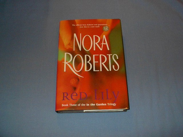 Red Lily by Nora Roberts bk club edition