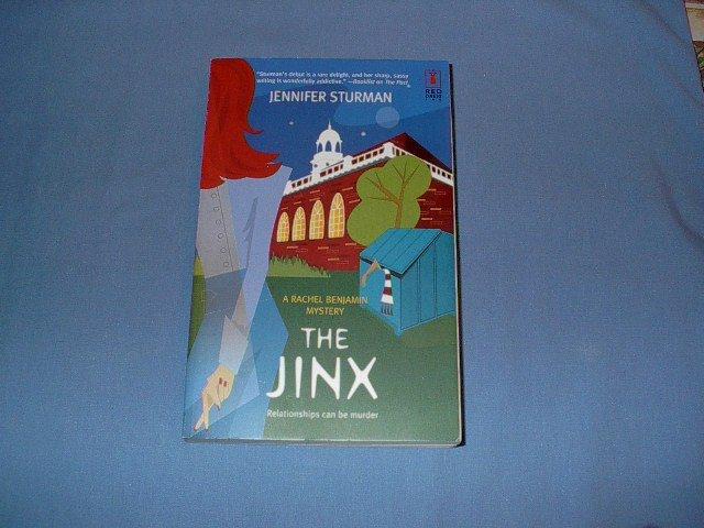 The Jinx by Jennifer Sturman  (red dress ink)