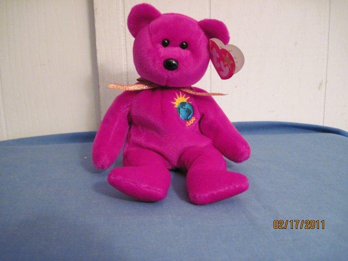 Beanie Baby  Millennium Bear