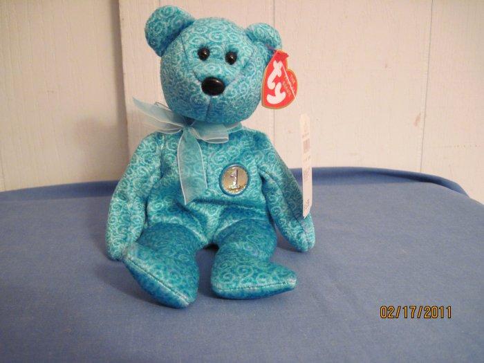 Beanie Babies Bear Classy