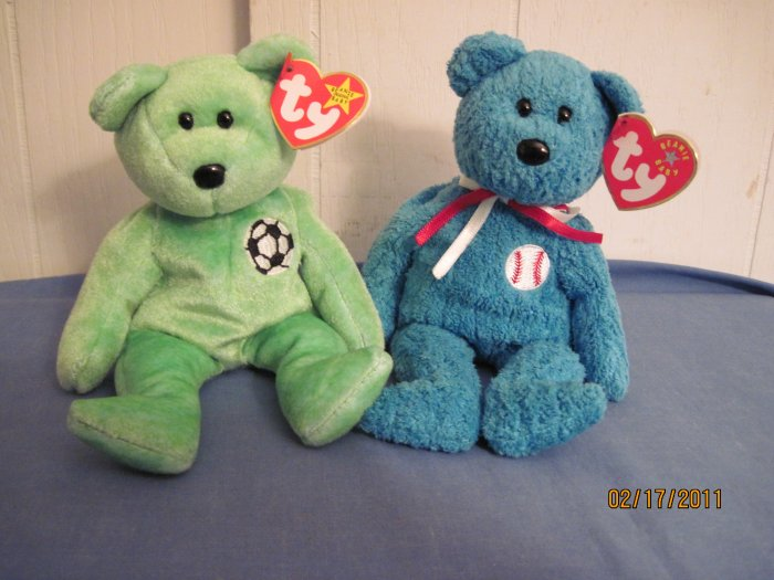 Beanie Babies Bears  Addison, Kicks