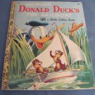 Walt Disney's Donal Duck's Toy Sailboat  (A Little Golden Book)