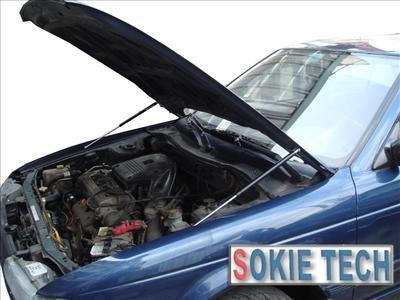 01 02 Nissan 180 Gas Hood Shock Lift Lifter Damper Kit d7