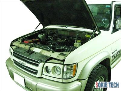 Isuzu Trooper Acura SLX SUV Gas Shock Hood Damper Kit k6