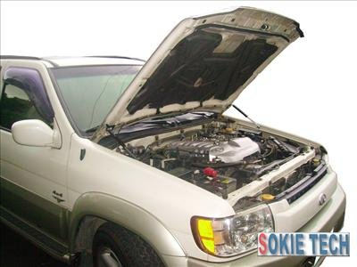97~03 Infiniti QX4 Carbon Fiber Gas Hood Shock Damper d9