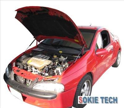 Opel Tigra Coupe Carbon Fiber Hood Lifter Shock Damper k7