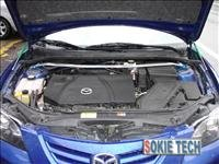 89~92 Mazda RX7 FC Silver Carbon Fiber Gas Hood Damper g4
