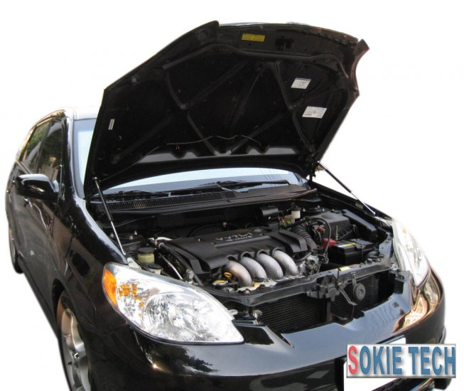 03 ~ 08 Toyota Matrix Carbon Fiber Hood Damper kit f8