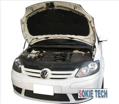 05~09 VW Golf 5+ (five plus) Carbon CF Hood Damper j8