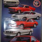 Mustang 30th Anniversary Poster