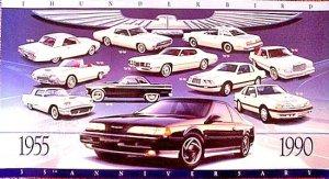 Thunderbird 35th Anniversary Poster