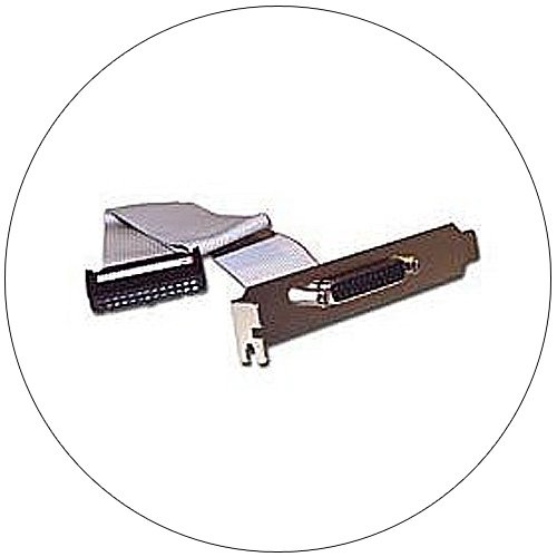 DB25F Serial Add-A-Port Adapter with Bracket