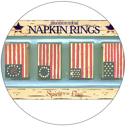 Spirit of the Flag Napkin Rings
