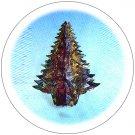 Hanging Metallic Christmas Tree - Foldout