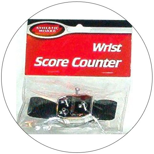 Buckle Strap Golfers Wrist Score Counter