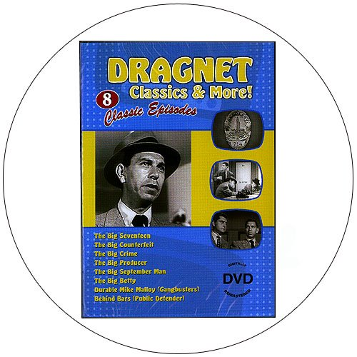 Dragnet & More - 8 Classic Episodes - Digitally Remastered DVD - 2009