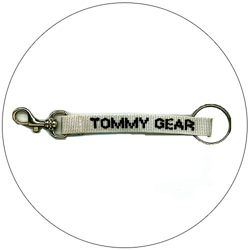 "Tommy Gear � Key Chain - Lt. Grey - 1/2"""" x 7"""