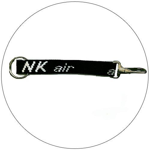"""air NK � Key Chain - Black - 3/4"""" x 8-1/2"""""""