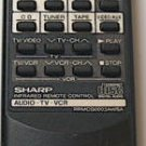 Sharp Remote Control CD / Audio / TV / VCR Model: RRMCG0003AWSA - (Preowned - Very Good)