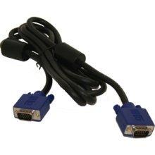 Dell Monitor Cable 6 FT Heavy Duty Guage w/ Ferrite Bead  VGA15 Pin Male/Male - No. 50.7A299.021.R