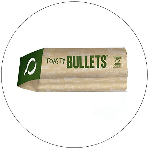 Quizno's Toasty Bullets Sleeves -  Case of 1,000 Qty