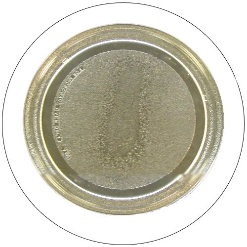 """GE Microwave Glass Cooking Tray - 11 1/4 """" Dia. - Part No. 3390W1G003 - (Refurbished - Like New)"""