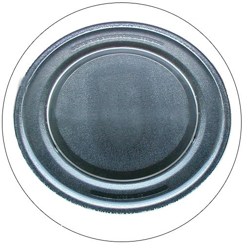 "Sharp Microwave Glass Cooking Tray 14 1/8"" Part No. NTNT-A108WREZ - (Refurbished - Like New)"