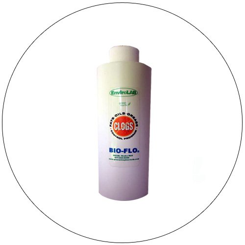 BIO-FLO - 1 Qty 200 ML Bottle - Natural Grease Trap, Drain And Septic Maintenance - EnviroLab.