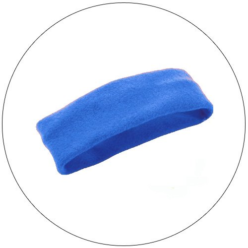 Soft Stretchable Chill Fleece Headband / Earband - Color: Royal Blue