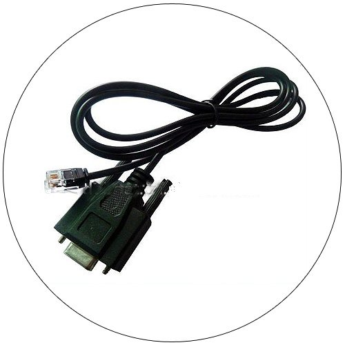 DB9 Female to RJ11 Data Transfer Cable
