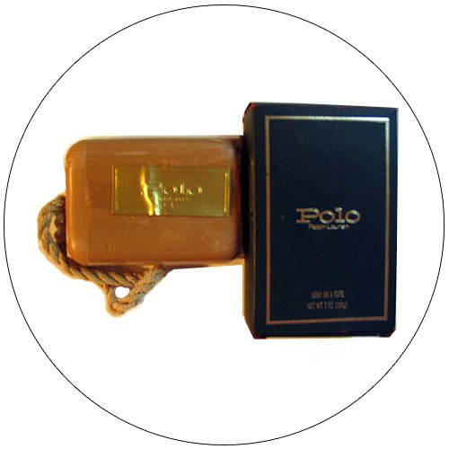 Vintage Original Ralph Lauren Polo Cologne Soap On a Rope -7 OZ. - (New In Packaging).