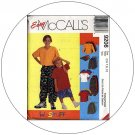McCall's No. 9206 Sewing Pattern - T-Shirt Pants or Shorts & Hat - Size 7-8-10