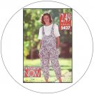 Butterick No. 5427 Sewing Pattern - Misses Jumpsuit and Top - Size 6-8-10