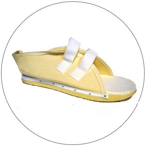 Sroufe - Canvas Post Op Cast Shoe With Velcro - Men - Men's Large - Shoe Size: 11-13 - No. 402-24