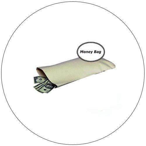 Heavy Duty Cotton Duck Money Bag - PM Company - No. 4627