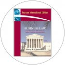 Business Law - Pearson International Edition Textbook  (Used - Very Good Condition)