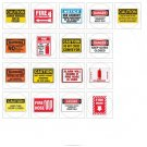 CLEARANCE! Bulk Lot OSHA Safety Signs, Labels & Tags Inventory. Save: $3,035.00