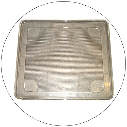 "Microwave Square Glass Tray 11 3/8 "" X 11 3/8"" (Refurbished - Like New)"