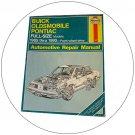 Haynes Repair Manual (Buick, Oldsmobile & Pontiac Full Size Models, 1985-1998) (Used - Very Good).