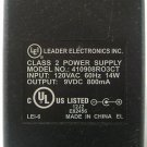 Leader Electronics Inc. AC Power Supply Adaptor No. 410908RO3CT (Refurbished)