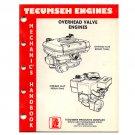 Original Tecumseh Engines Overhead Valve Engines 695244 (Vintage Collectible)