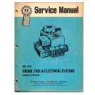 Original International Harvester Blue Ribbon Service Manual: Engine, Fuel & Electrical - GSS-1441