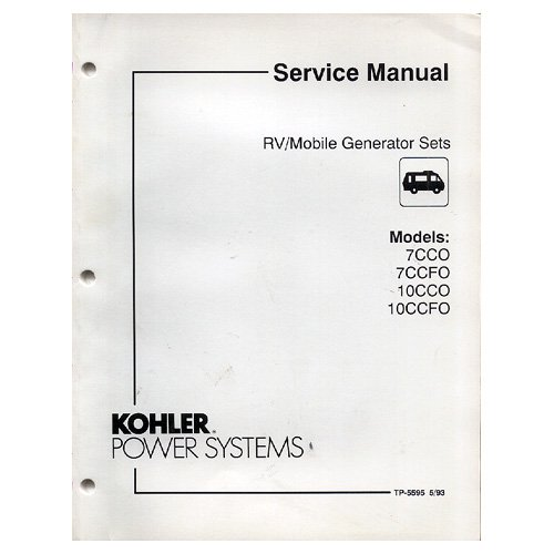 kohler generator service manuals download