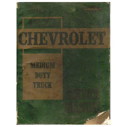 Original 1973 Chevrolet Medium Duty Truck Service Manual - Series 50 Thru 65 No. ST-331-73