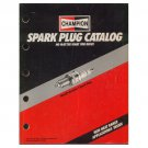 Original 1991 Champion Spark Plug Application Catalog Form No. 500