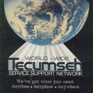 Original 1987 Tecumseh Service Support Network Promotional Service Material (Vintage Collectible)