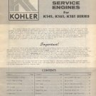 Original 1971 Kohler Installation & Parts Ordering Instructions - ENS 769 (Vintage Collectible)
