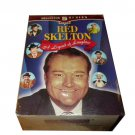 Collector Series 5 Pack Red Skelton A Legend of Laughter VHS (New In Stock)